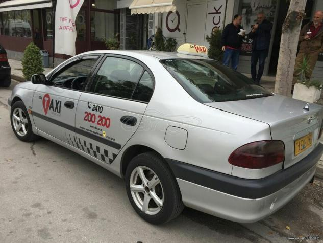 Toyota Avensis 2001. Photo 1