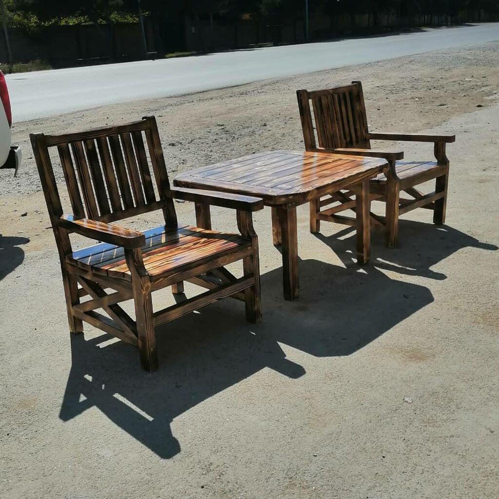 Uwaq otagi ucun carpayilar Bag evleri ucun divan kreslolar besetkalar restoranlar ucun masa ve oturacaqlar