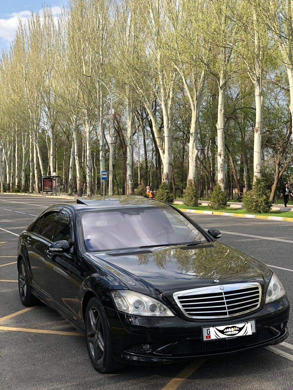 Mercedes-Benz S 55 5.5 л. 2007 | 180 км: Mercedes-Benz S 55 5.5 л. 2007 | 180 км