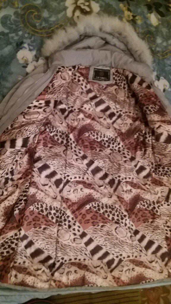 Куртка длинная теплая зимняя! В отличном состоянии!. Photo 1