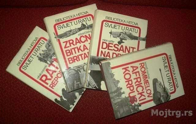 Svet u ratu izdavac alfa beograd. Biblioteka se sastoji od 4knjige  i - Beograd