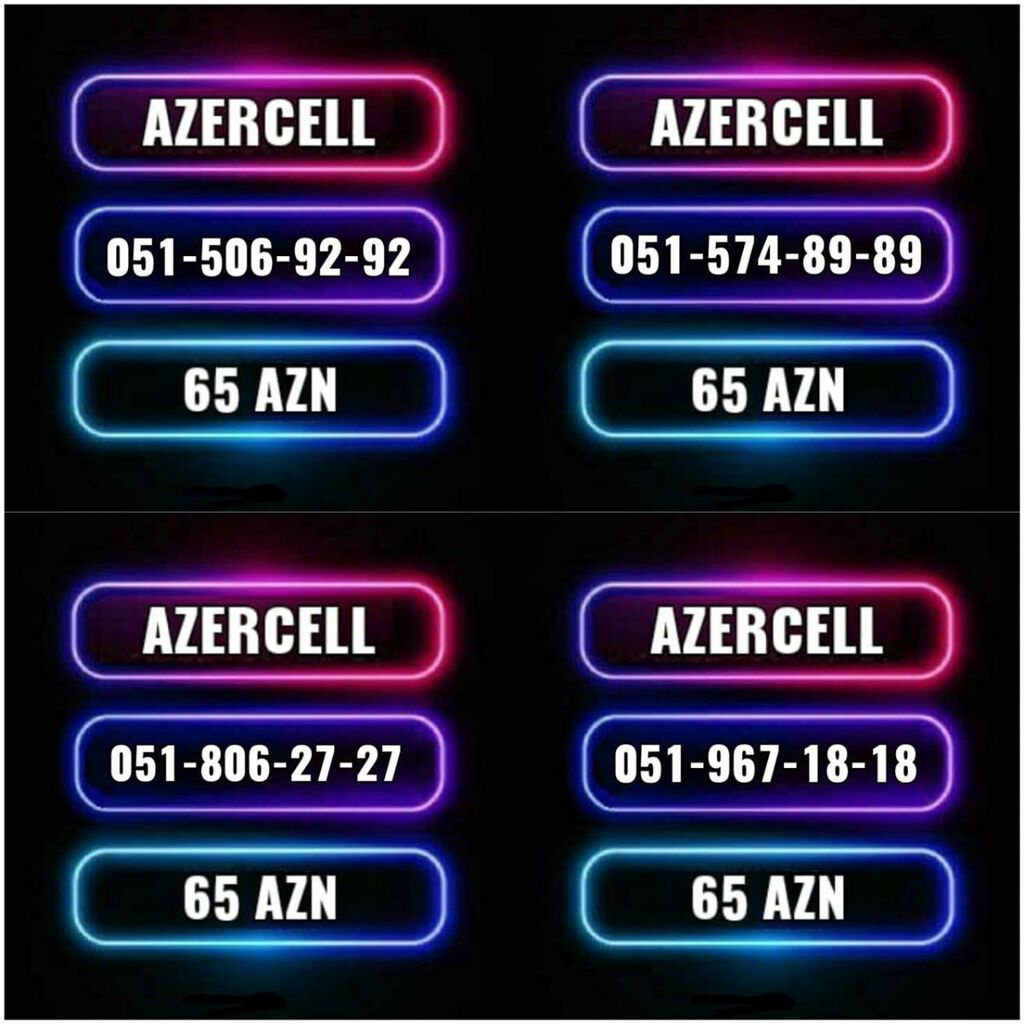 Yeni Azercell nomre