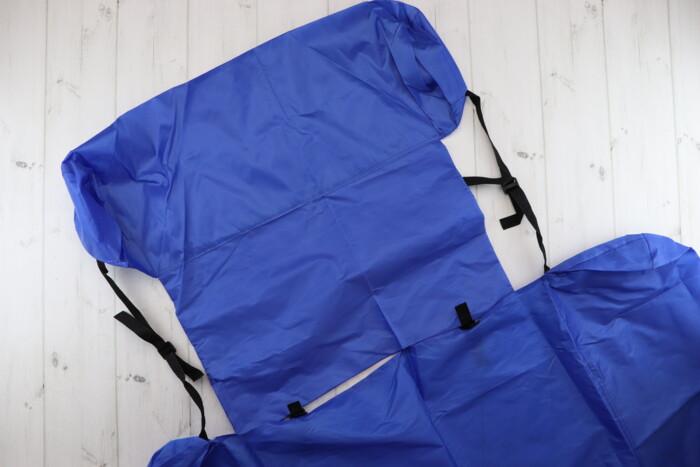 Страхувальний надувний засіб   Розмір у складеному вигляді: 70 х 58 см: Страхувальний надувний засіб   Розмір у складеному вигляді: 70 х 58 см