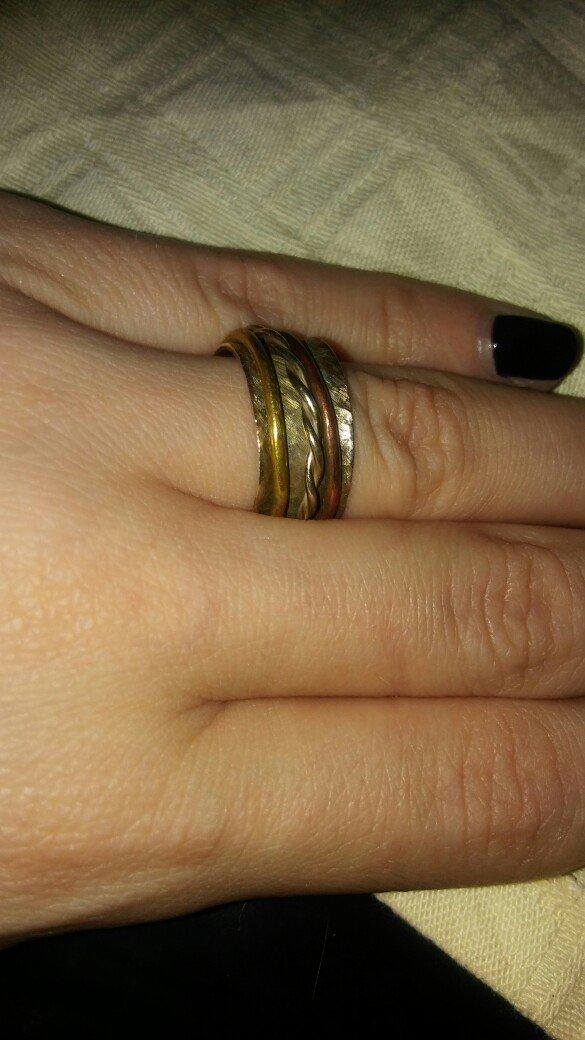 Χειροποιητο. φαρδυ δαχτυλιδι ασημι 925.. Photo 0