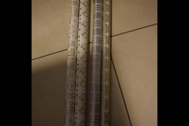 4 χαρτια περιτυλιγματος ικεα, ολοκαινουργια. Photo 1