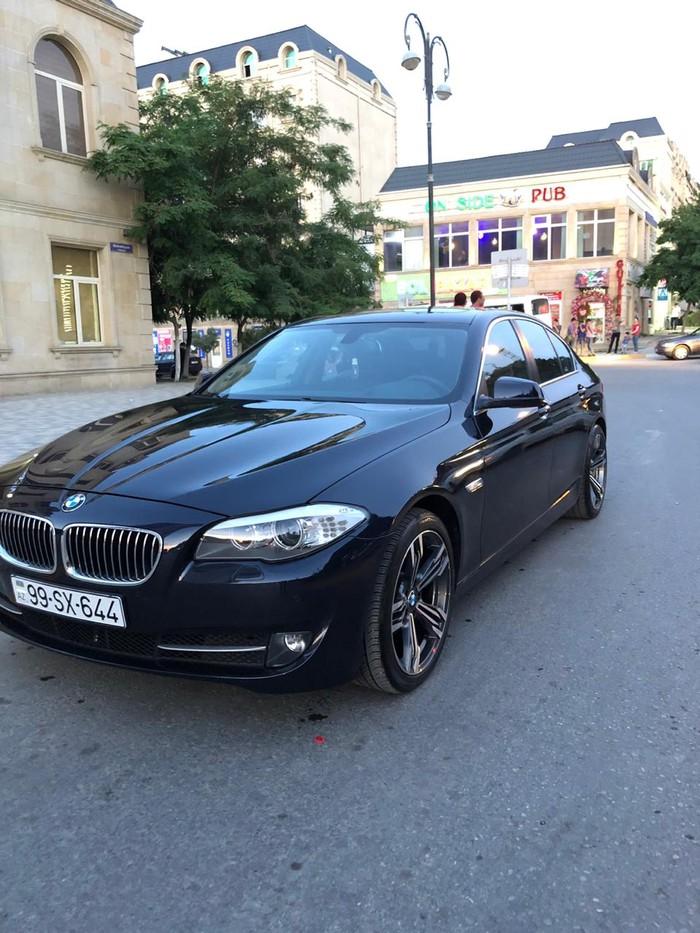 BMW 520 2013. Photo 1