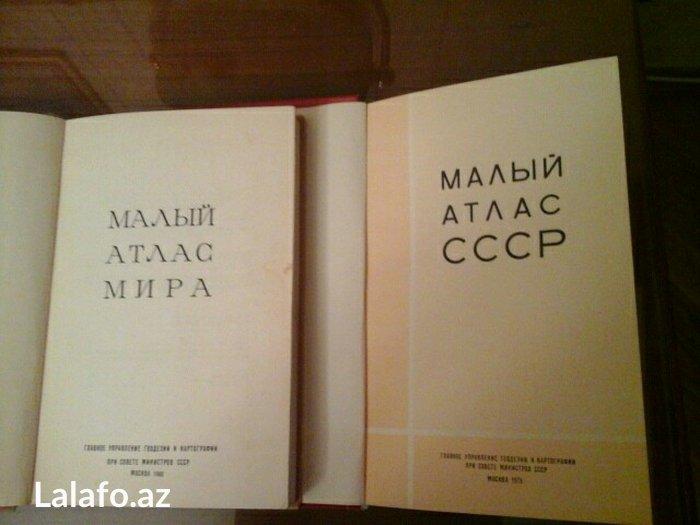 Bakı şəhərində Maliy atlas mira i maliy atlas sssr