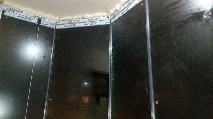 Bakı şəhərində Cam balkonlar restaranlarda evlerde eyvaninizda ve s celbedici gornus