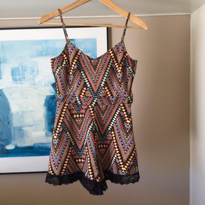 H&M κοντή αμάνικη ολόσωμη φόρμα. Tribal,. Photo 0