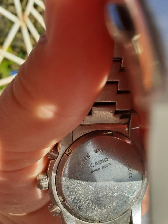 Casio chronograph 200m quartz