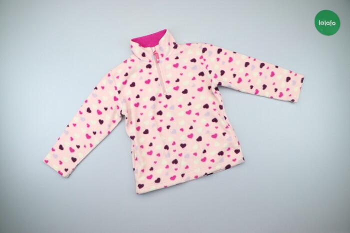 Дитяча флісова кофтинка у сердечка C&A, на зріст 122 см   Довжина: Дитяча флісова кофтинка у сердечка C&A, на зріст 122 см   Довжина: