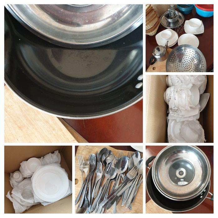 Посуда на 20 персон новая. Брали для кафе. в Бишкек