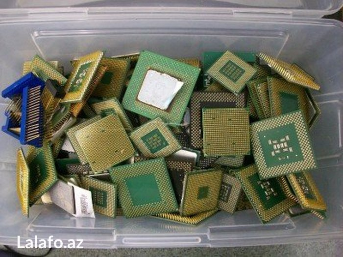Gəncə şəhərində Aliram xarab ishlemiyen processorlar ramlar  kohne teze qilimish her