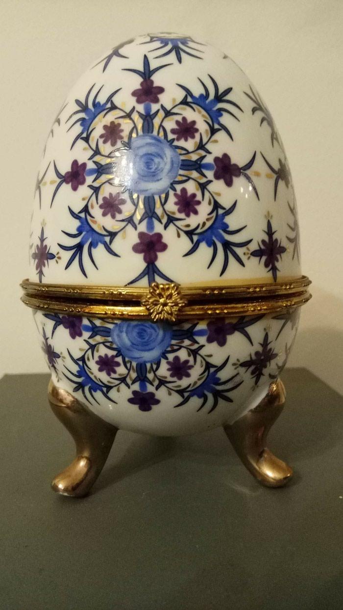 Αυθεντικο αυγο Limoges σε Ζωγράφου