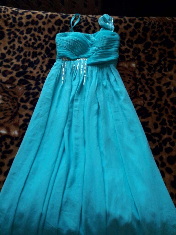 Продаю вечернее платье, цвет ментол, надевала 1 раз, ткань шифон: Продаю вечернее платье, цвет ментол, надевала 1 раз, ткань шифон,