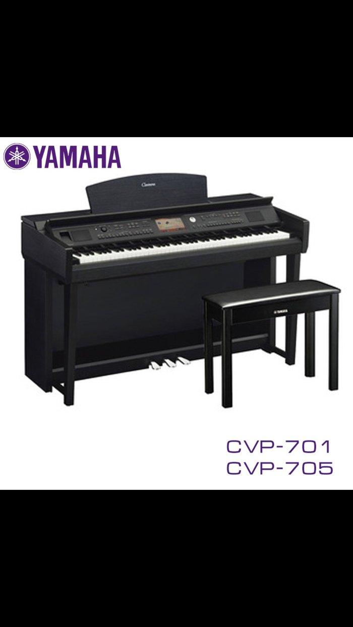 Фортепиано Yamaha cvp-701 клавинова -пианино 88 клавиш gh3x (graded hammer 3x) с механизмом возврата и покрытием из синтетической слоновой кости, напоминающим по тактильным ощущениям клавиши рояля, до интуитивных средств управления и интеграции с ipad – рассчитаны таким образом, чтобы удовлетворить самого взыскательного музыканта