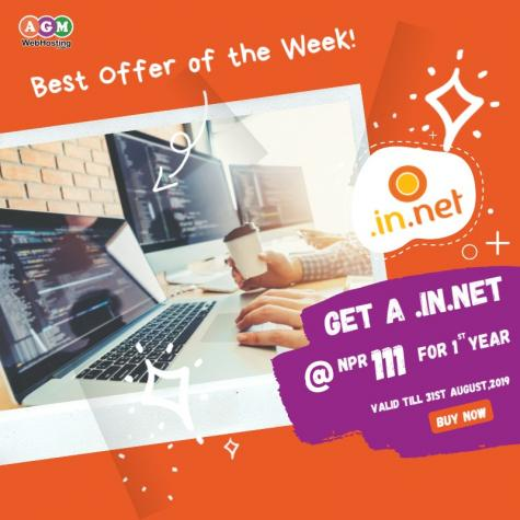 Yes You Heard That Right! Exclusive Offer only @AGM_WEB_HOSTING