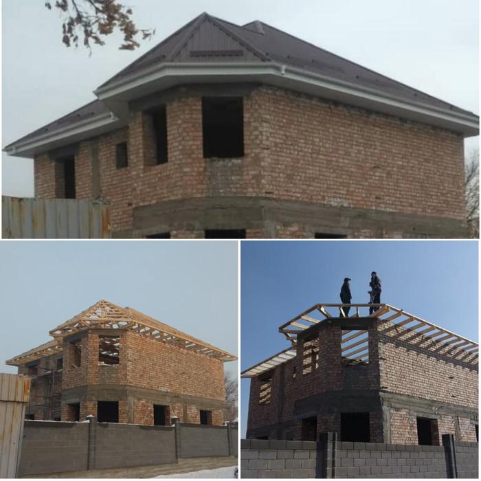 Крыша жабабыз стяжка кафель мастер бригада . Photo 3