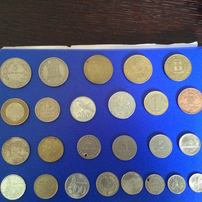 Διάφορα νομίσματα 15€. Photo 0
