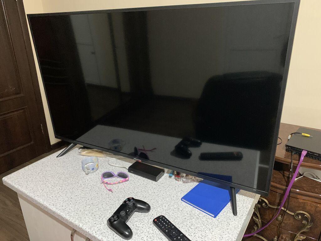 Продаю телевизор, 49 дюймов. Большой. Андроид.Прлный андроид. Пульт: Продаю телевизор, 49 дюймов. Большой. Андроид.Прлный андроид. Пульт.