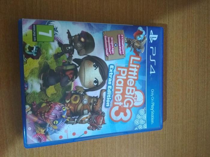 Little Big Planet 3.  PS4 σε τελεια κατάσταση χωρίς γρατσουνιές. Photo 0