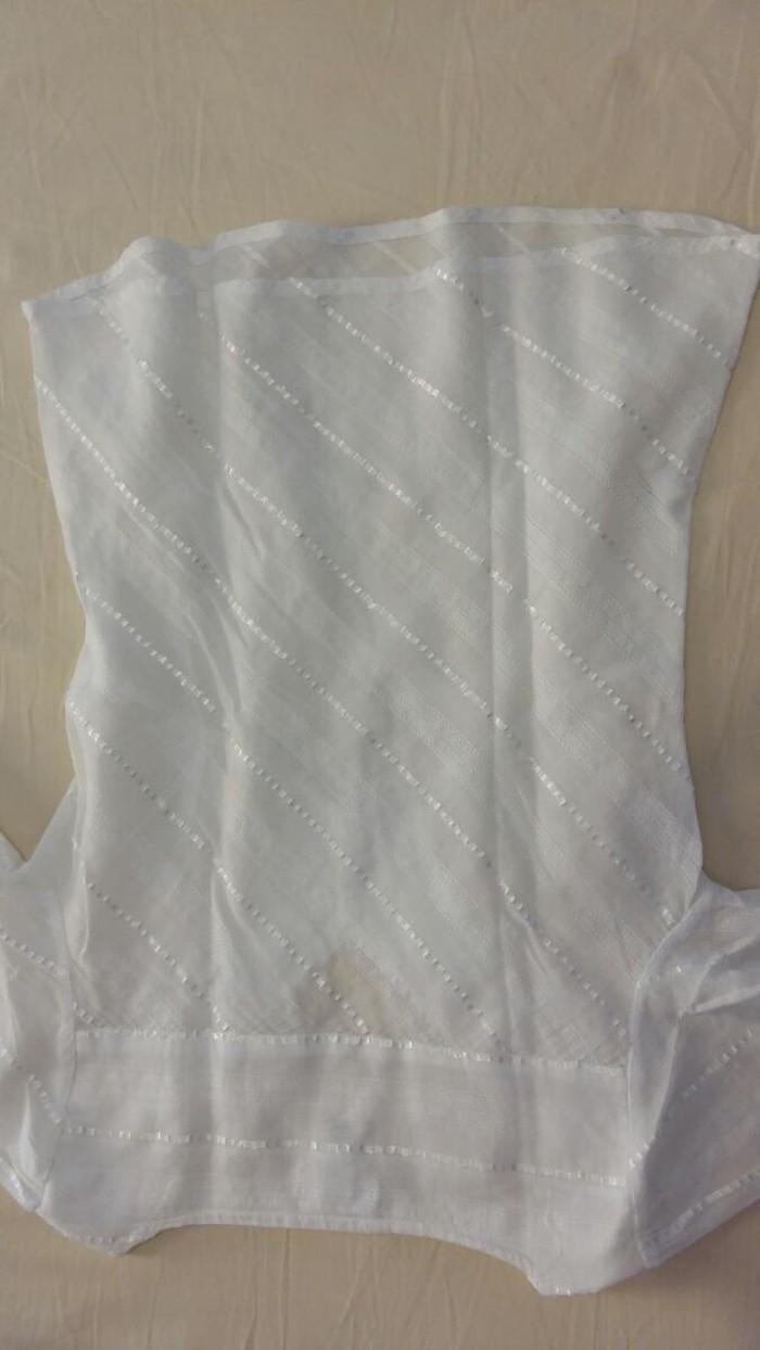 Μπλουζάκι αφόρετο,λευκό ,νούμερο 36. Photo 3