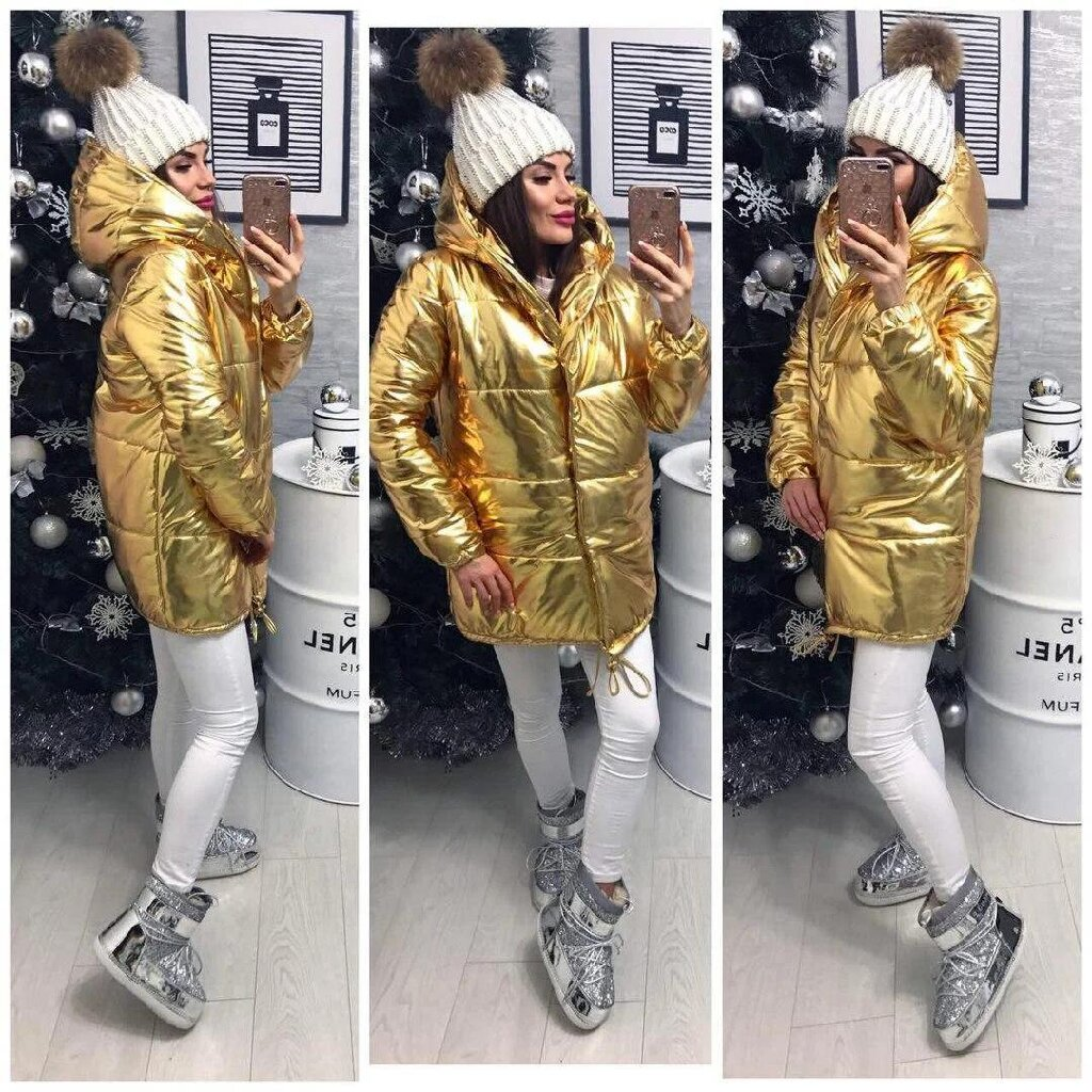 Женские куртки цвет металлик. Размеры уточняйте! Под заказ! Доставка в Ковшаровка