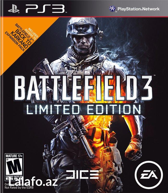 Bakı şəhərində Ps3 *Battlefield 3*