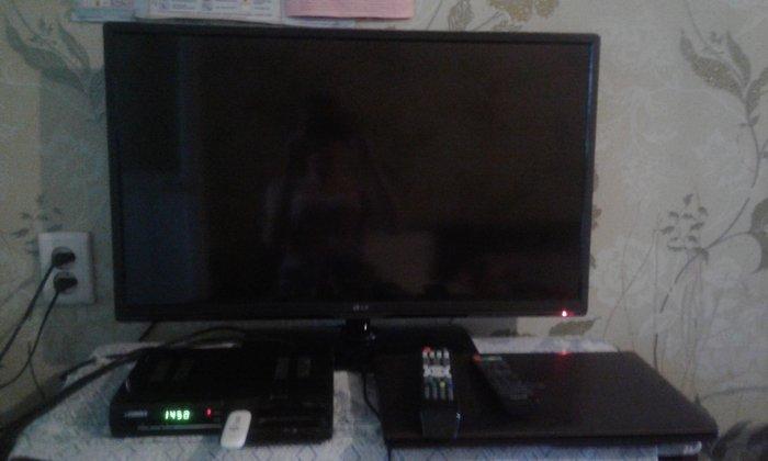 Продается почти новый LG телевизор с тюнером. . Photo 0