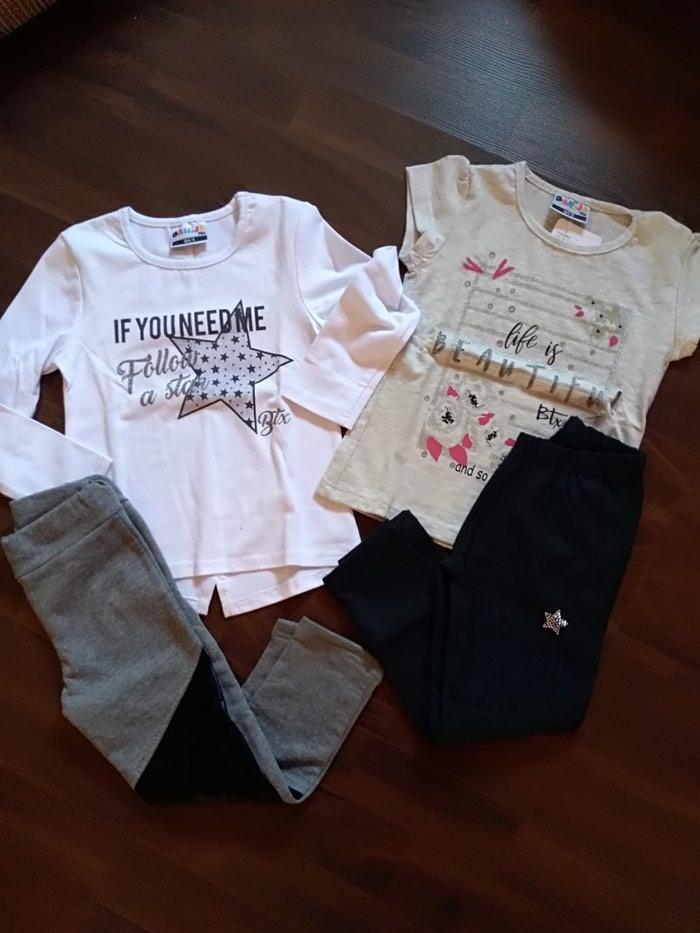 Paket nove garderobe za devojčicu. Veličina 4.. Photo 0