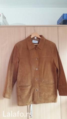 Ženska kožna jakna, veličina 42