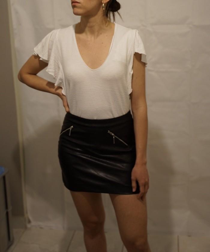 H & M Μίνι φούστα δερματίνη. Ν. 34 σε Αθήνα