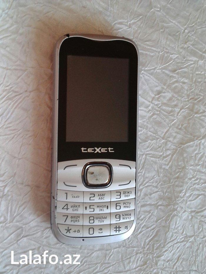 Bakı şəhərində Texet telefonu. Ekrani ishlemir,korpus kimi satilir. Batareyasi yoxdur