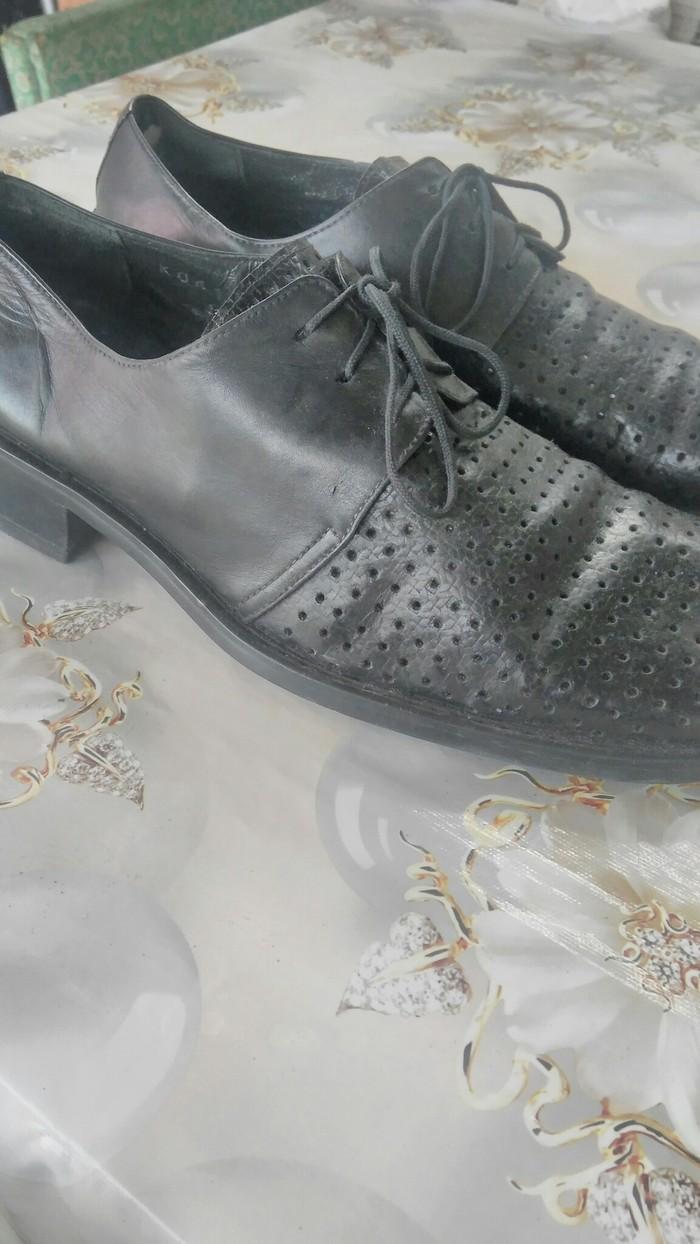 05001ad4 Продаю Кожаные туфли произв'во Италия. 41 размер.состояние отличное в Бишкек