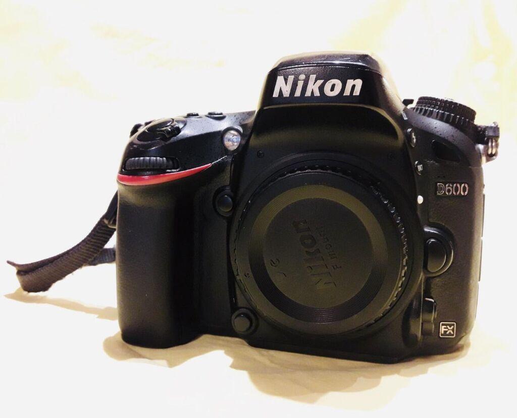 Nikon D600 σώμα, DSLR Full Frame ψηφιακή φωτογραφική μηχανή με ενσωματωμένο φλας, 24,3 megapixels με LCD οθόνη 3,2 ιντσών