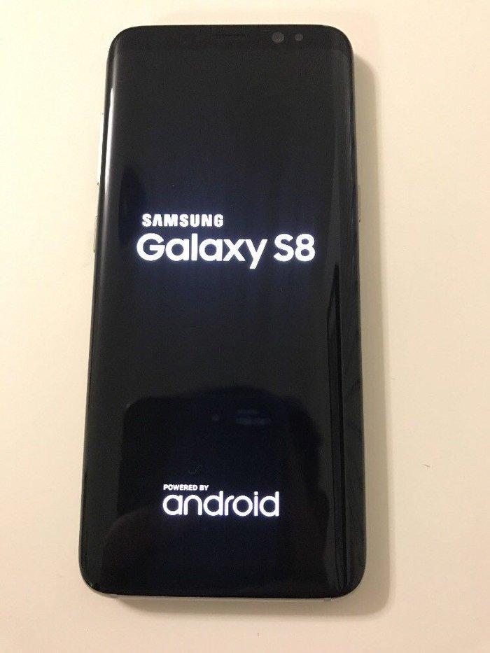 Galaxy S8 maple gold αντιγραφο, Octa Core, Dual Sim,Eyes. Photo 2