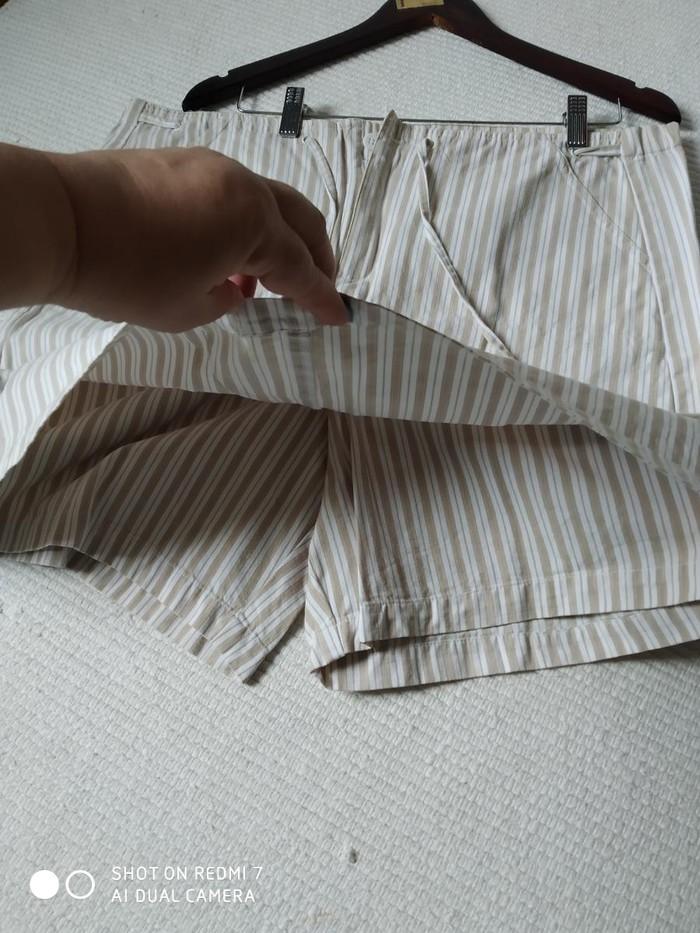 Юбка-шорты спереди вид юбки