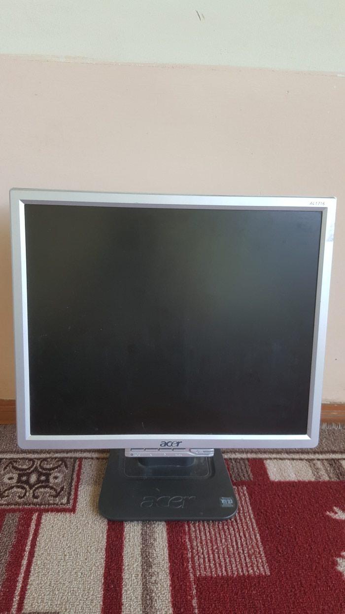 Продается монитор для компа acer al1716 100%рабочий в Ош