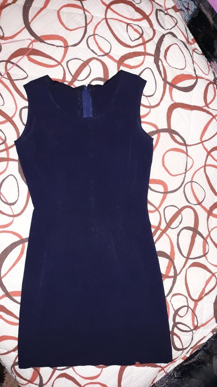 Teget plava haljina...vel 38. Photo 0