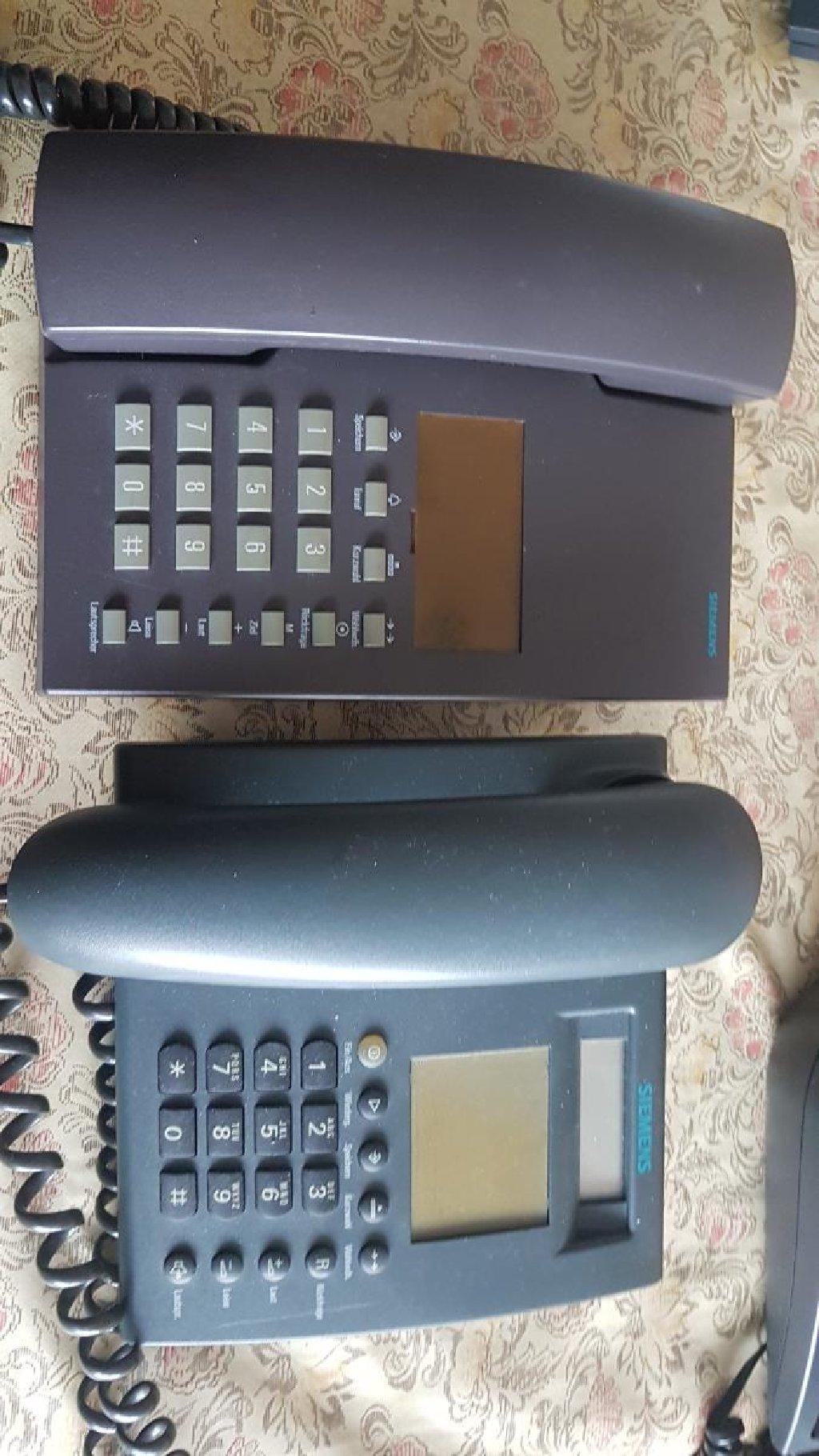 Siemens fiksni telefoni,novi,cena je za komad