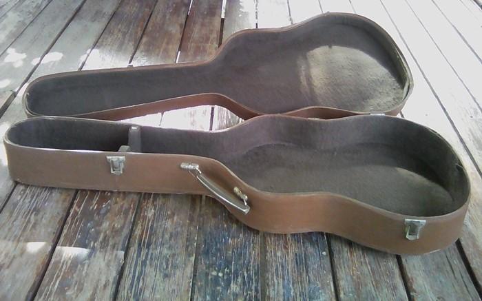 Жесткий футляр (кейс) для гитары. Производство СССР. Размер 3/4. . Photo 5
