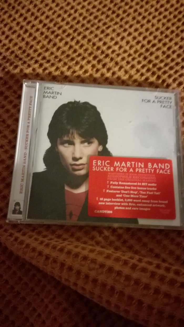 Eric Martin Band Sucker For A Pretty Face Rock Candy CD. Sticker. Photo 0