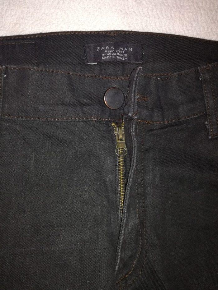 Zara muske farmerke,par puta nosene kao nove,ravne nogavice. Photo 3