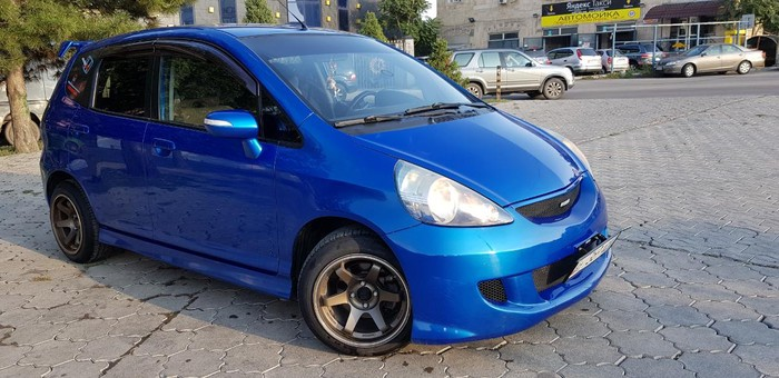 Honda Jazz 2008. Photo 1