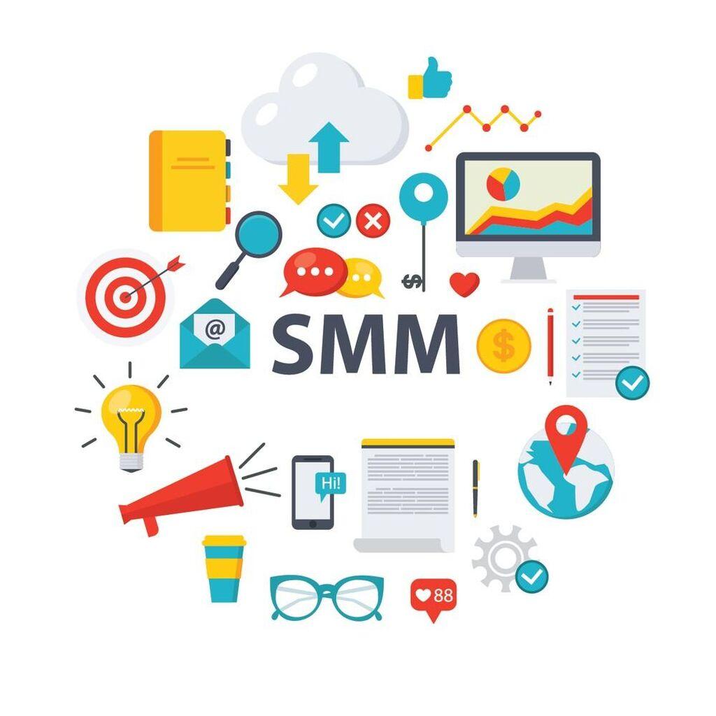 SMM СММ продвижение в социальных сетях