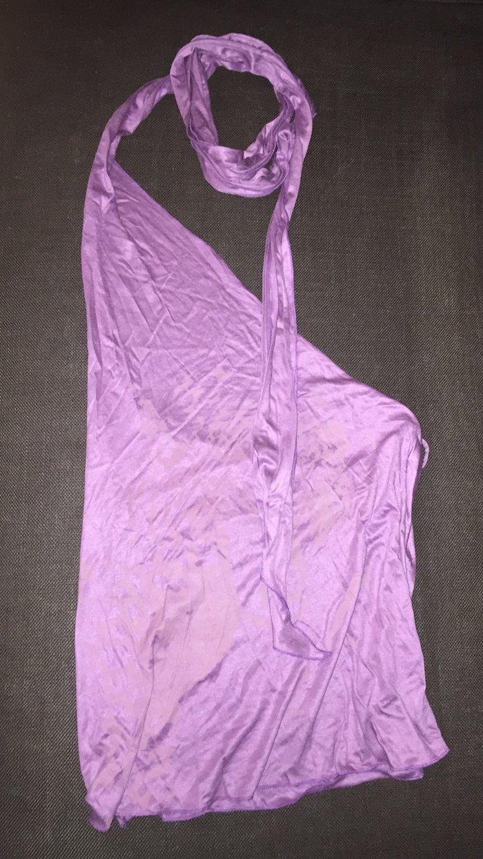 Nolita μωβ , εξώπλατη μπλούζα ,με έναν ώμο. Photo 3
