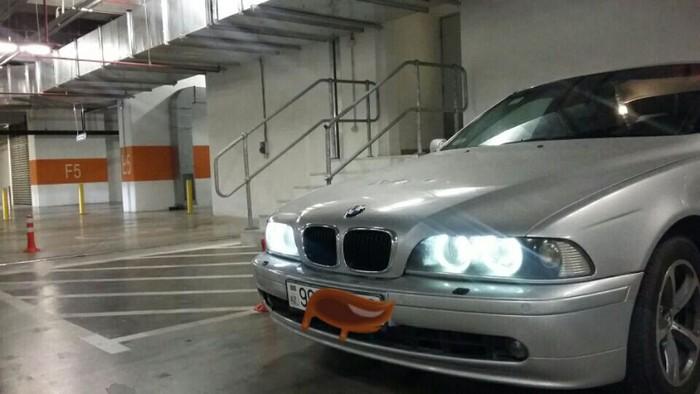 BMW 520 2001. Photo 0