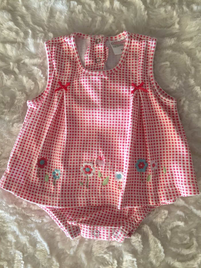 Cotton romper suit. 0-3 months. Excellent condition.  σε Νέα Σμύρνη