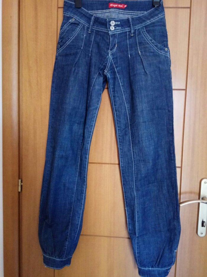 Παντελόνι τζιν φαρδύ σχεδόν αφορετο. Photo 0