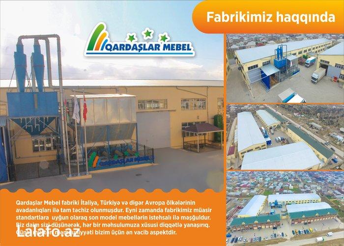 """Bakı şəhərində """"Qardaşlar Mebel"""" mmc müasir standartlara uyğun son model mebellərin"""